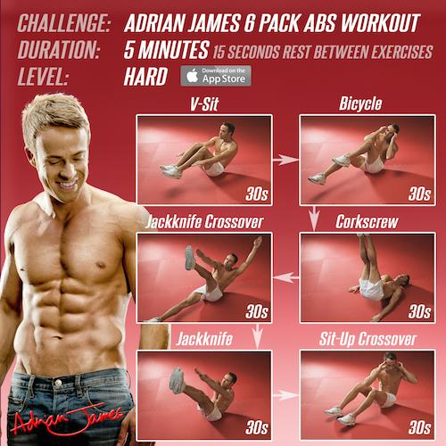 20 MIN TOTAL CORE/AB WORKOUT (At Home No Equipment) - SAM